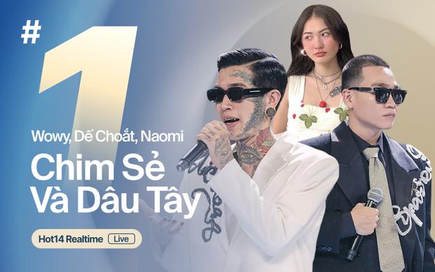 Giữa tâm bão rap diss của Rhymastic và Torai9, Dế Choắt và Wowy nắm tay nhau âm thầm vươn lên #1 HOT14! - Ảnh 8.