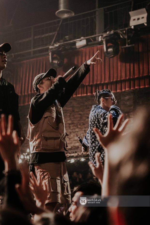 Nguyên team SpaceSpeakers dạt sang hết, nhường sân khấu cho dàn gà cưng Binz tạo nên đêm liveshow chơi hệ Hip-hop quá dữ! - Ảnh 9.