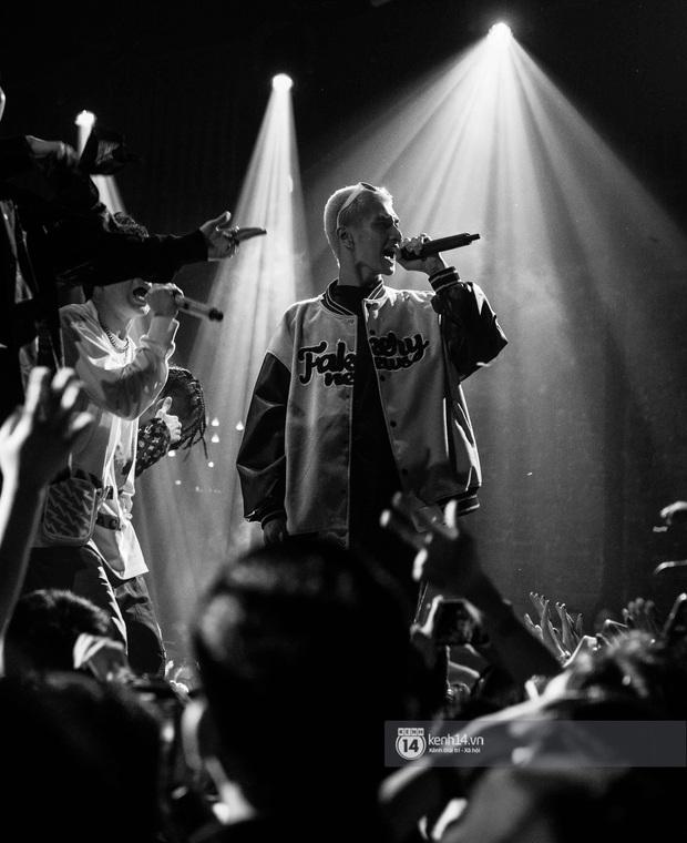 Nguyên team SpaceSpeakers dạt sang hết, nhường sân khấu cho dàn gà cưng Binz tạo nên đêm liveshow chơi hệ Hip-hop quá dữ! - Ảnh 14.