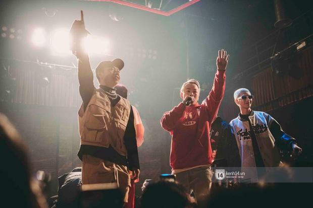 Nguyên team SpaceSpeakers dạt sang hết, nhường sân khấu cho dàn gà cưng Binz tạo nên đêm liveshow chơi hệ Hip-hop quá dữ! - Ảnh 19.