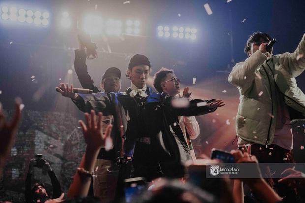 Nguyên team SpaceSpeakers dạt sang hết, nhường sân khấu cho dàn gà cưng Binz tạo nên đêm liveshow chơi hệ Hip-hop quá dữ! - Ảnh 24.