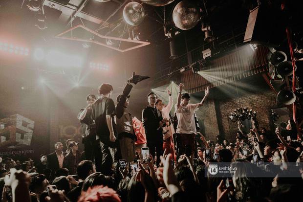 Nguyên team SpaceSpeakers dạt sang hết, nhường sân khấu cho dàn gà cưng Binz tạo nên đêm liveshow chơi hệ Hip-hop quá dữ! - Ảnh 37.