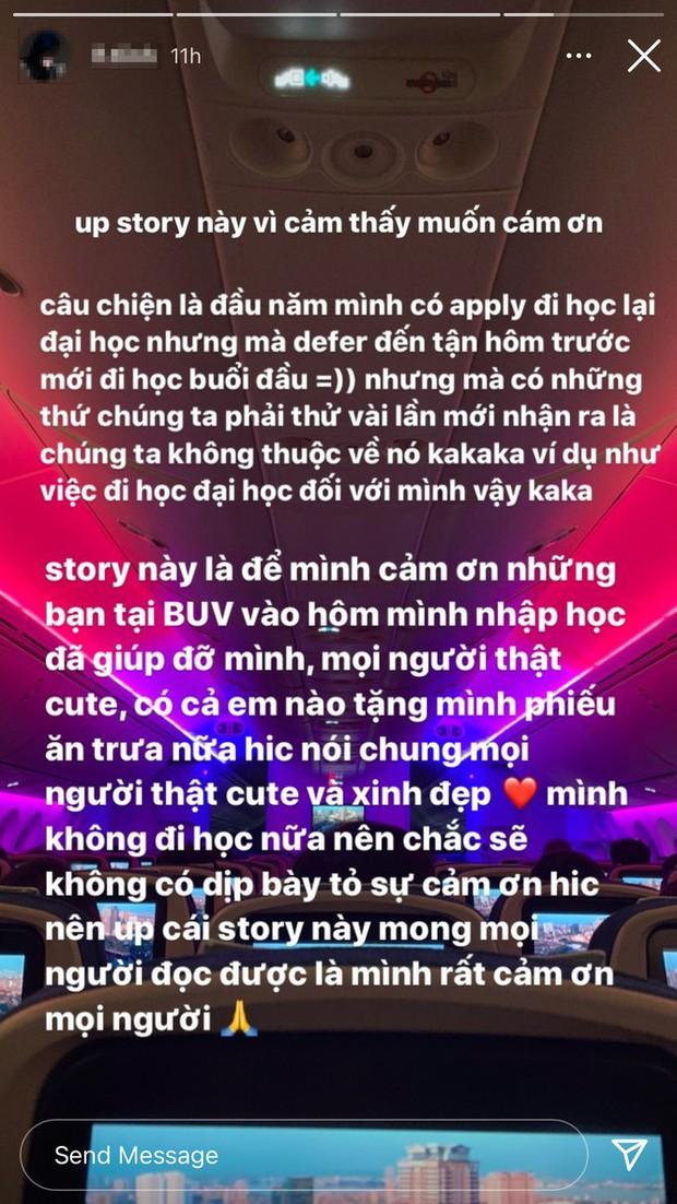 Kết thúc Rap Việt, Tlinh quyết định nghỉ học lần 2 - Ảnh 2.