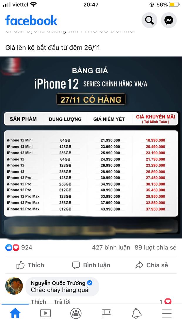Ngọc Trinh, Linh Ka đứng ngồi không yên, hóng iPhone 12 chính hãng về Việt Nam - Ảnh 6.
