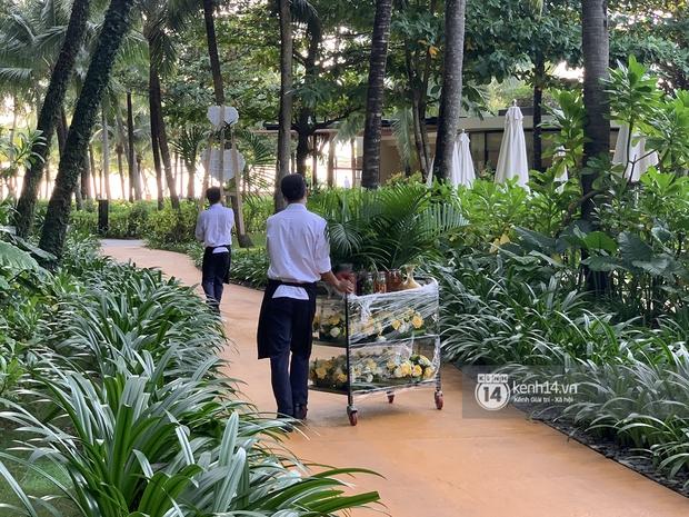 Lộ diện công đoạn chuẩn bị tiệc cưới Công Phượng - Viên Minh tại Phú Quốc, dự kiến toàn các món cầu kỳ - Ảnh 2.