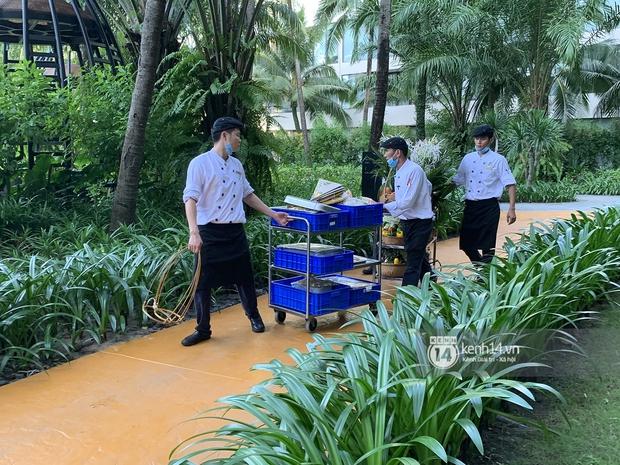 Lộ diện công đoạn chuẩn bị tiệc cưới Công Phượng - Viên Minh tại Phú Quốc, dự kiến toàn các món cầu kỳ - Ảnh 3.