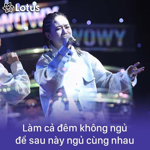 Điểm lại 14 câu tạo trend của Rap Việt! - Ảnh 8.