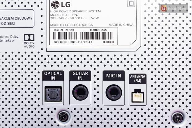 Trải nghiệm loa Bluetooth LG XBOOM RN5/ RN7: Nhìn ngoại hình cứ tưởng loa kẹo kéo, nhưng bên trong là hồn cốt Rap Việt - Ảnh 9.