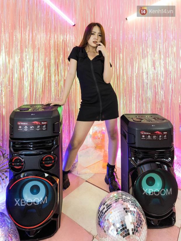 Trải nghiệm loa Bluetooth LG XBOOM RN5/ RN7: Nhìn ngoại hình cứ tưởng loa kẹo kéo, nhưng bên trong là hồn cốt Rap Việt - Ảnh 12.