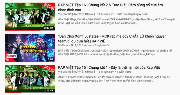 Mặc tranh cãi, tiết mục của MCK kết hợp JustaTee đạt #1 Itunes và leo thẳng top 2 trending YouTube - Ảnh 2.