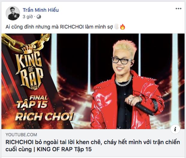 Không phải Quán quân ICD, đây mới là thí sinh khiến HIEUTHUHAI sợ tại King Of Rap - Ảnh 1.