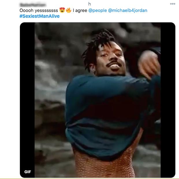 Michael B. Jordan được chọn là Người đàn ông quyến rũ nhất 2020, fan hè nhau ôn lại cảnh lột áo nóng bỏng ở Black Panther - Ảnh 9.