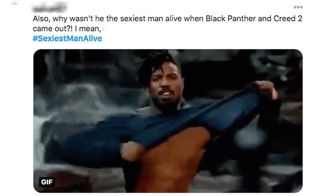 Michael B. Jordan được chọn là Người đàn ông quyến rũ nhất 2020, fan hè nhau ôn lại cảnh lột áo nóng bỏng ở Black Panther - Ảnh 6.