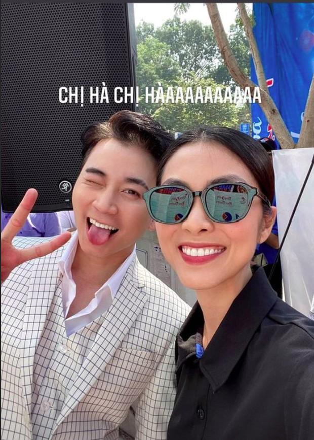 Netizen phát cuồng vì Karik và Hà Tăng lần đầu hội ngộ chung khung hình: Bữa tiệc visual là đây chứ đâu! - Ảnh 2.