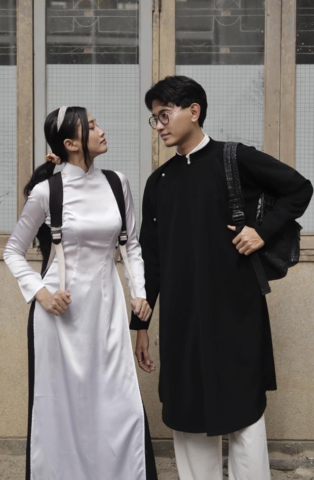 Vào mà xem nam sinh, nữ sinh cùng mặc áo dài đi học, nhìn cưng xỉu! - Ảnh 6.