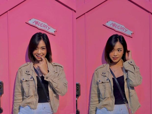 """Hotgirl Philippines bỗng sốt rần rần trên MXH vì trông không khác gì em gái thất lạc của """"streamer bạc tỉ"""" Linh Ngọc Đàm - Ảnh 4."""
