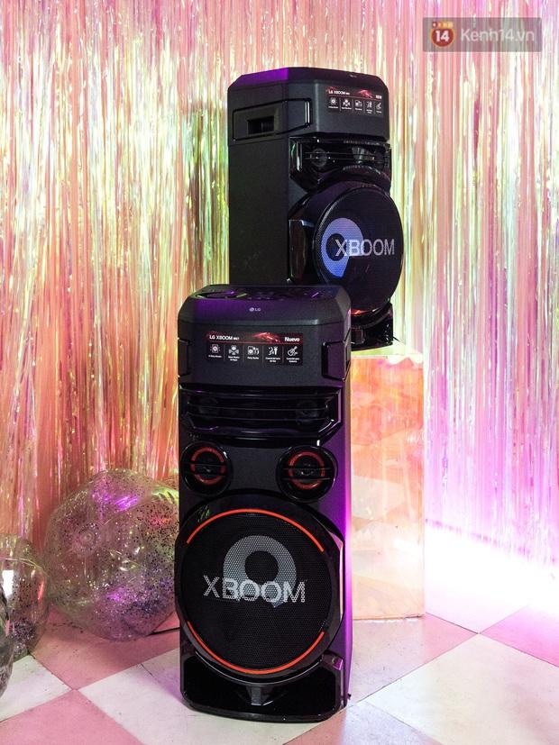 Trải nghiệm loa Bluetooth LG XBOOM RN5/ RN7: Nhìn ngoại hình cứ tưởng loa kẹo kéo, nhưng bên trong là hồn cốt Rap Việt - Ảnh 3.