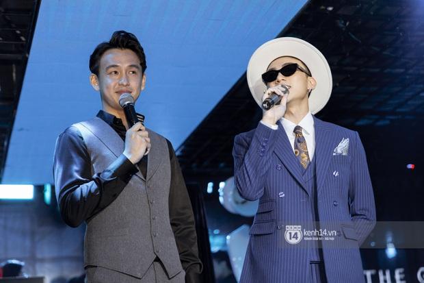 Soobin Hoàng Sơn chính thức đổi nghệ danh, sẵn tiện cũng ờ mây zing gút chóp cà khịa Binz ngay tại buổi họp báo ra mắt E.P The Playah - Ảnh 6.