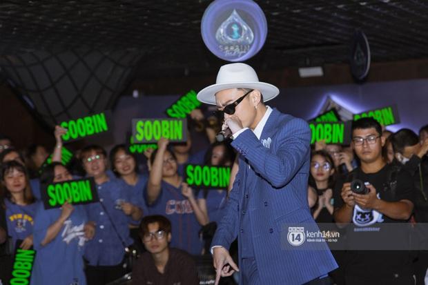 Soobin Hoàng Sơn chính thức đổi nghệ danh, sẵn tiện cũng ờ mây zing gút chóp cà khịa Binz ngay tại buổi họp báo ra mắt E.P The Playah - Ảnh 16.