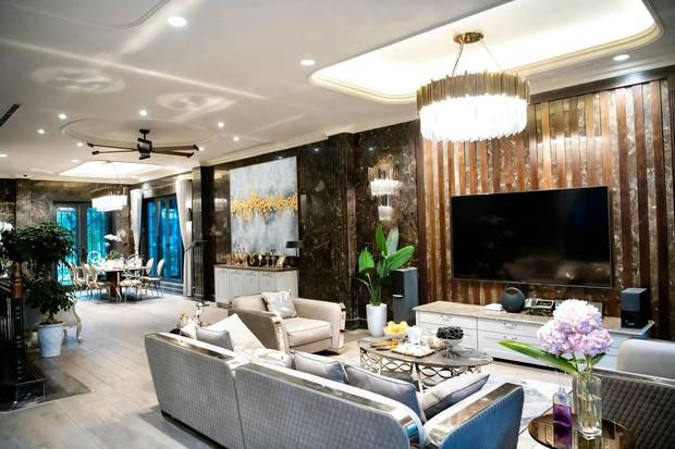 Mãn nhãn không gian biệt thự bạc tỷ của Lã Thanh Huyền: Rộng hàng trăm m2, sang như khách sạn, sân vườn chiếm spotlight - Ảnh 6.