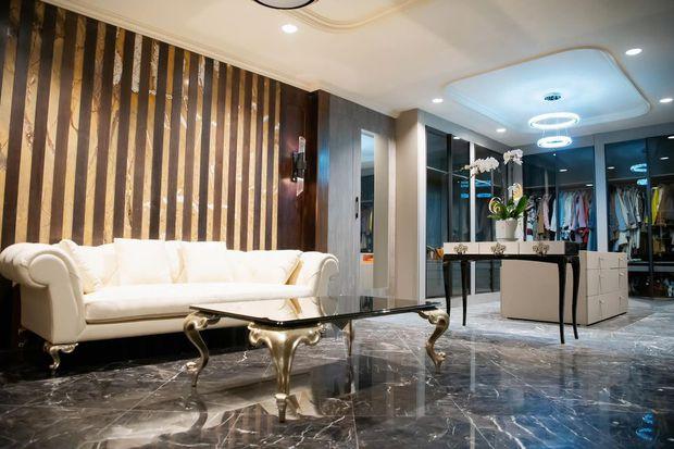 Mãn nhãn không gian biệt thự bạc tỷ của Lã Thanh Huyền: Rộng hàng trăm m2, sang như khách sạn, sân vườn chiếm spotlight - Ảnh 8.