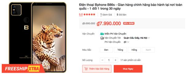 Bphone B86 giảm giá 3 triệu đồng - Ảnh 3.