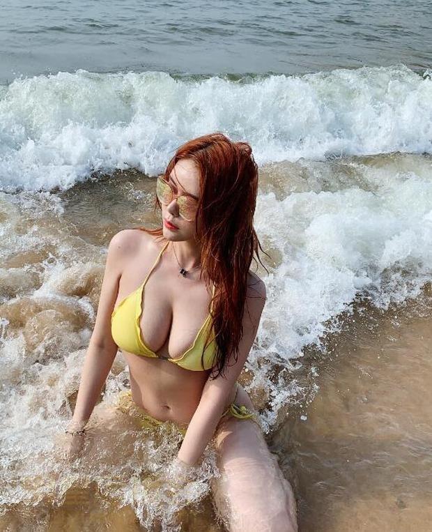 Nữ người mẫu, streamer siêu vòng một thường xuyên khoe hình ảnh gợi cảm lên sóng và cái kết... hối không kịp - Ảnh 9.