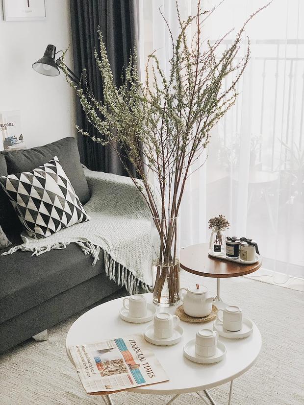 Cặp vợ chồng trẻ đi khắp Hà Nội tìm đồ decor cho căn hộ Vinhomes, nhìn cực sáng và sang - Ảnh 16.
