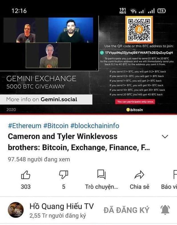 Nhiều kênh YouTube triệu sub của Hồ Quang Hiếu, Vũ Khắc Tiệp, Lynk Lee... bị hack, nhưng nạn nhân lại có phản ứng cực kỳ hài hước! - Ảnh 2.