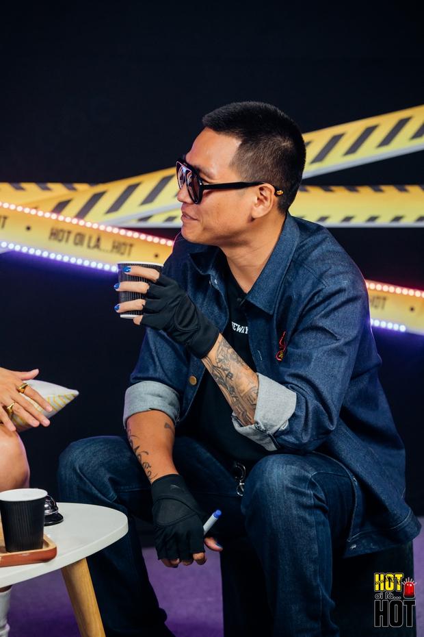 Dế Choắt hé lộ hình xăm đôi với Wowy, bật mí câu nói của Trấn Thành giúp có thêm động lực thi Rap Việt - Ảnh 7.