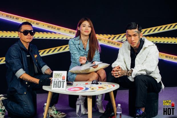 Dế Choắt hé lộ hình xăm đôi với Wowy, bật mí câu nói của Trấn Thành giúp có thêm động lực thi Rap Việt - Ảnh 1.
