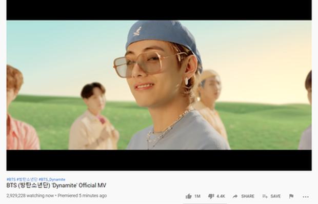 Với hơn 3 triệu lượt xem công chiếu, MV Life Goes On vượt Dynamite, BTS tiếp tục phá kỉ lục thế giới của chính mình! - Ảnh 4.