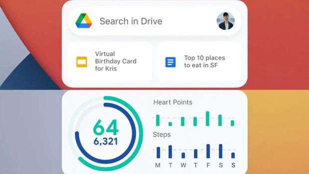 Google ra mắt iOS widget cho ứng dụng Gmail, Drive và Google Fit - Ảnh 3.