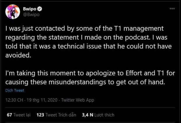 Tuyển thủ Fnatic bị T1 hỏi thăm sau phát ngôn chỉ trích hỗ trợ Effort - Ảnh 3.