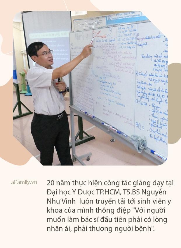 """Ký ức bất lực nhìn bệnh nhân ra đi của vị bác sĩ 20 năm vừa làm thầy giáo vừa chữa bệnh và lời nhắn nhủ sinh viên: """"Y khoa là ngành phải dấn thân"""" - Ảnh 8."""
