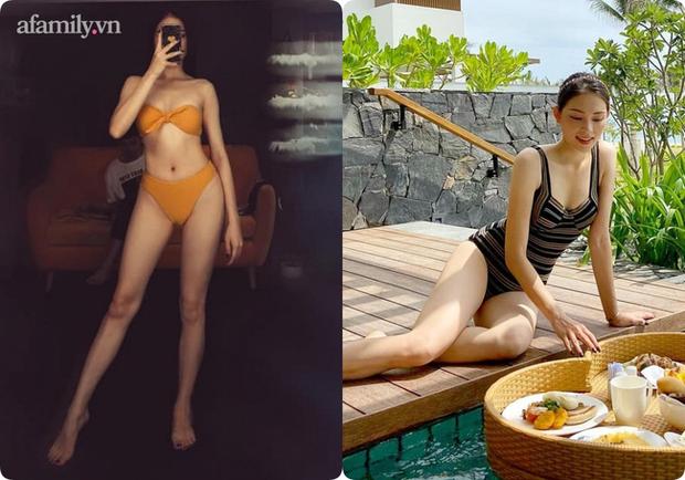 Khi độc thân thì không ngại bikini sexy, từ ngày yêu thiếu gia nhà hào môn, đến đồ bơi Linh Rin cũng kín bưng không hở khúc nào - Ảnh 5.