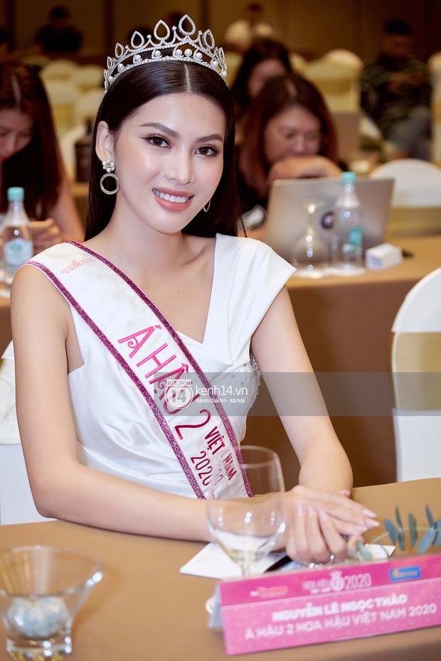 Bộ ảnh đọ sắc nét căng đầu tiên của Top 3 Hoa hậu Việt Nam 2020: Tân Hoa hậu Đỗ Thị Hà bất ngờ bị Á hậu 2 Ngọc Thảo giật spotlight! - Ảnh 7.