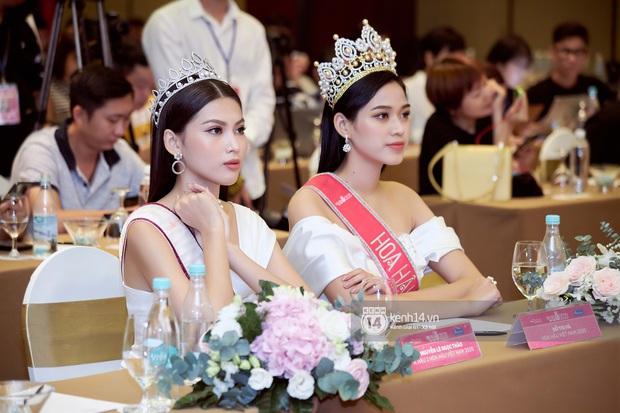 Bộ ảnh đọ sắc nét căng đầu tiên của Top 3 Hoa hậu Việt Nam 2020: Tân Hoa hậu Đỗ Thị Hà bất ngờ bị Á hậu 2 Ngọc Thảo giật spotlight! - Ảnh 9.