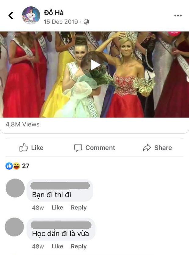 Đỗ Thị Hà từng có status tiên tri về việc đăng quang Hoa hậu? - Ảnh 3.