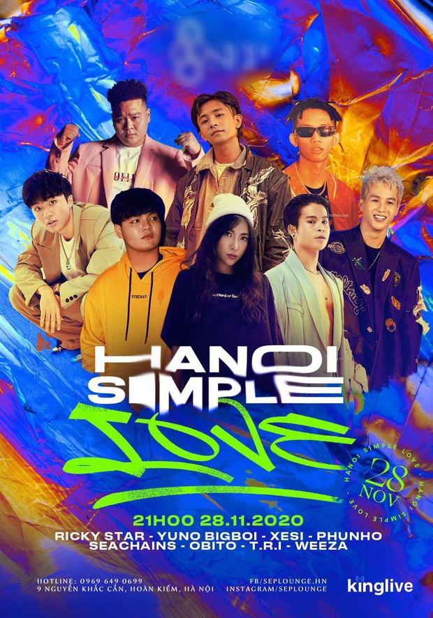 Yuno Bigboi - Ricky Star rủ rê nhau đổ bộ, cùng Xesi và loạt rapper sẵn sàng đốt cháy sân khấu tại Hà Nội - Ảnh 2.