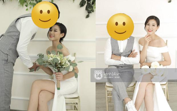 Lộ ảnh cưới của tân Hoa hậu Việt Nam Đỗ Thị Hà trước khi đăng quang, tạo dáng tình tứ bên trai lạ? - Ảnh 5.