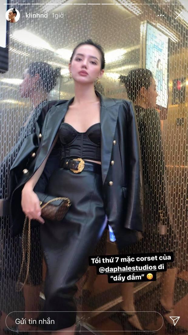 Đọ sắc với con gái tỷ phú, Khánh Linh để lộ vóc dáng gầy gò khiến fan lo lắng - Ảnh 2.
