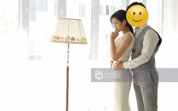 Lộ ảnh cưới của tân Hoa hậu Việt Nam Đỗ Thị Hà trước khi đăng quang, tạo dáng tình tứ bên trai lạ? - Ảnh 3.