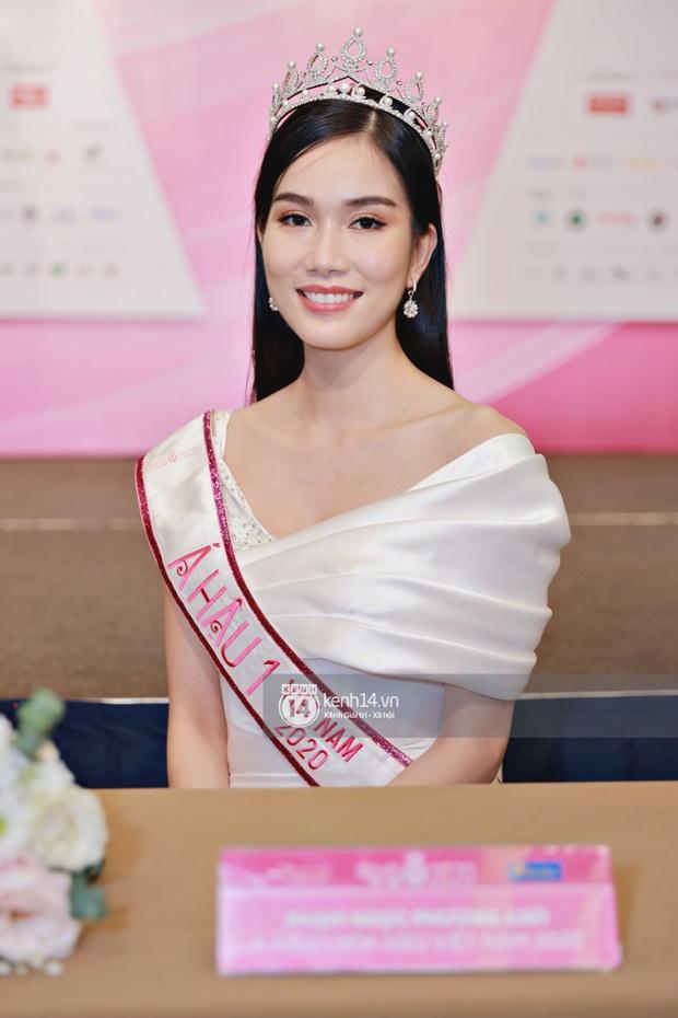 Bộ ảnh đọ sắc nét căng đầu tiên của Top 3 Hoa hậu Việt Nam 2020: Tân Hoa hậu Đỗ Thị Hà bất ngờ bị Á hậu 2 Ngọc Thảo giật spotlight! - Ảnh 11.