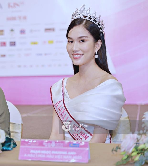 Bộ ảnh đọ sắc nét căng đầu tiên của Top 3 Hoa hậu Việt Nam 2020: Tân Hoa hậu Đỗ Thị Hà bất ngờ bị Á hậu 2 Ngọc Thảo giật spotlight! - Ảnh 10.