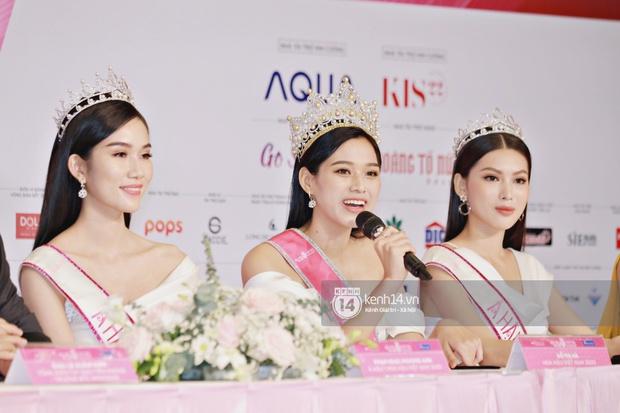 Bộ ảnh đọ sắc nét căng đầu tiên của Top 3 Hoa hậu Việt Nam 2020: Tân Hoa hậu Đỗ Thị Hà bất ngờ bị Á hậu 2 Ngọc Thảo giật spotlight! - Ảnh 13.