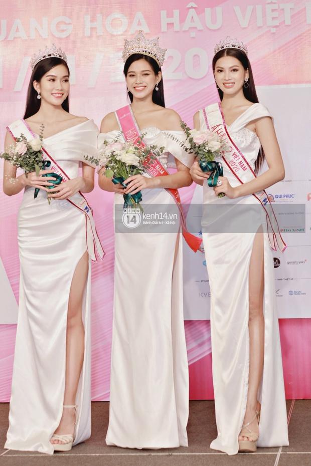 Bộ ảnh đọ sắc nét căng đầu tiên của Top 3 Hoa hậu Việt Nam 2020: Tân Hoa hậu Đỗ Thị Hà bất ngờ bị Á hậu 2 Ngọc Thảo giật spotlight! - Ảnh 2.