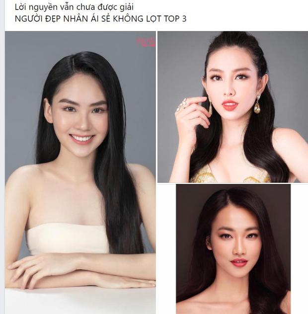 Thí sinh có phần ứng xử xuất sắc nhất Hoa hậu Việt Nam không lọt Top, nguyên nhân là do lời nguyền truyền kiếp? - Ảnh 3.