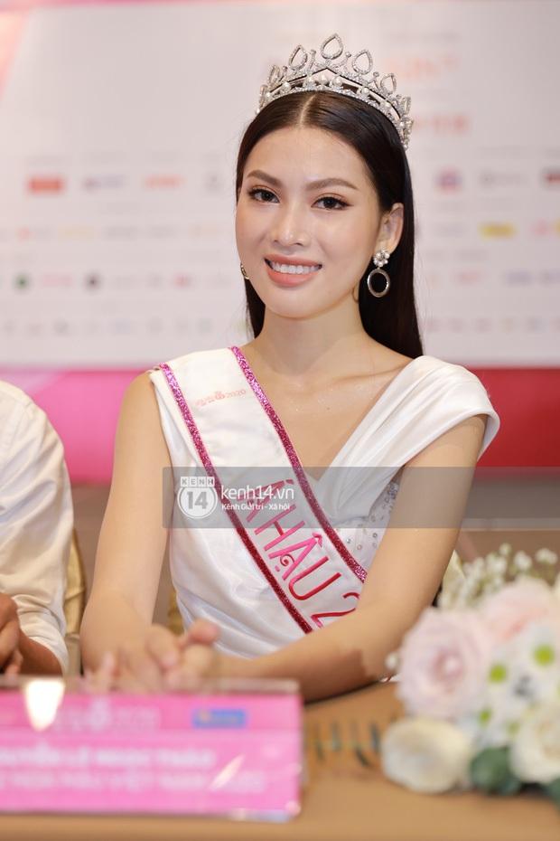 Á hậu 2 Hoa hậu Việt Nam 2020 bị soi trình độ học vấn không tốt, BTC nói gì? - Ảnh 1.