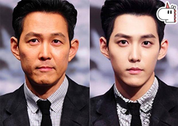 Dân tình đang náo loạn vì loạt ảnh tài tử hóa idol: Lee Dong Wook - Gong Yoo đáng lẽ nên đổi vai, Hyun Bin đẹp nhưng sao cứ sai sai? - Ảnh 8.